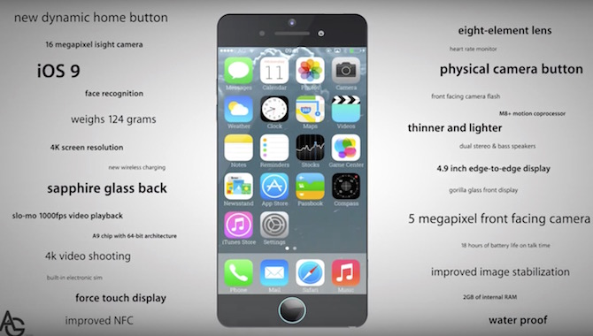 iPhone 7 concept video 2016