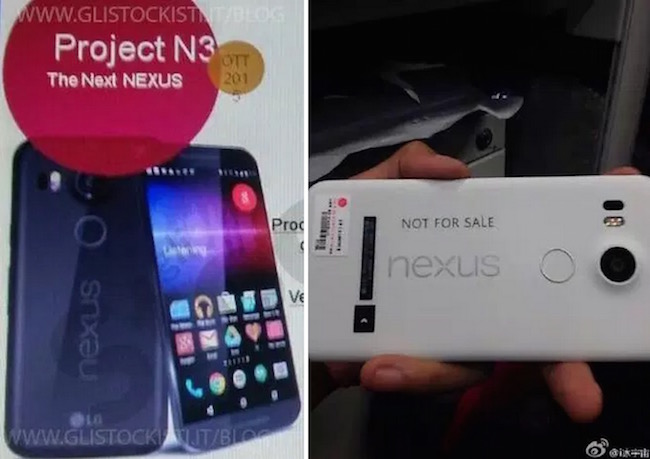LG Nexus 5 technical specifications