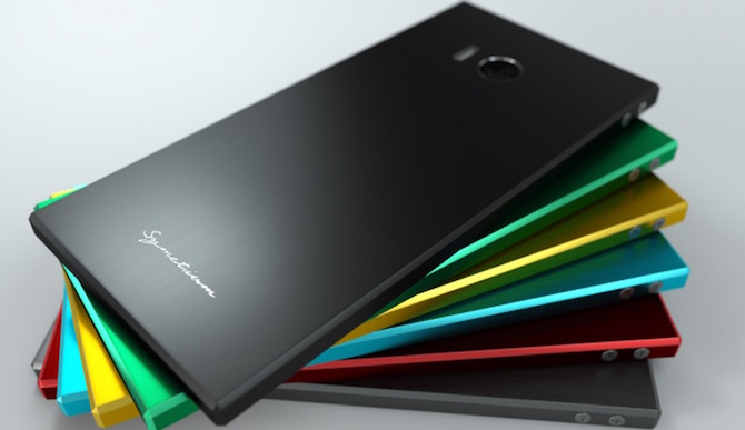 Symetium smartphone pc colors