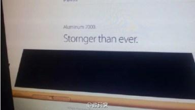 iPhone 6s aluminum