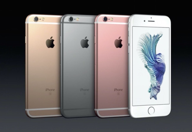 iPhone 6s color option