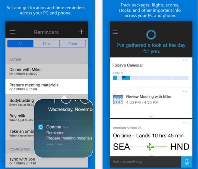Download Microsoft's Cortana for iOS