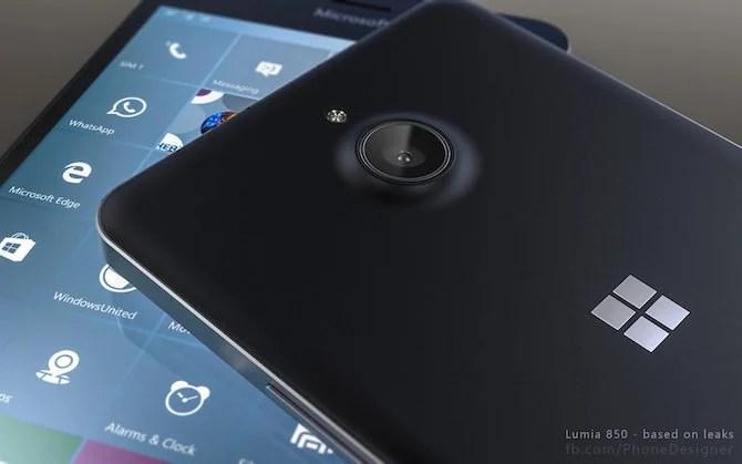 Lumia 850 camera