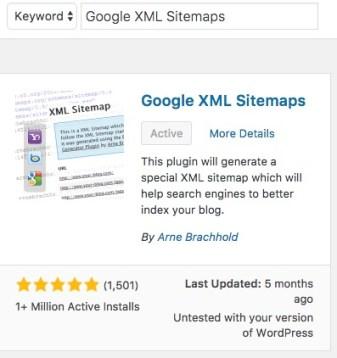 google-xml-sitemap