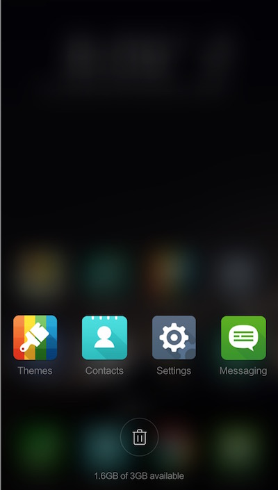 Xiaomi MIUI Theme based on ASUS ZenUI