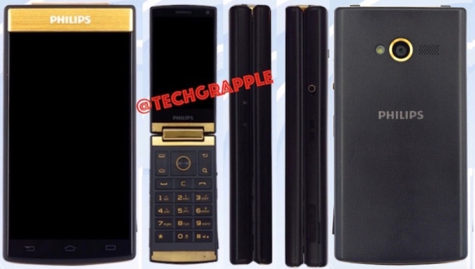 Philips V800 Flip Phone