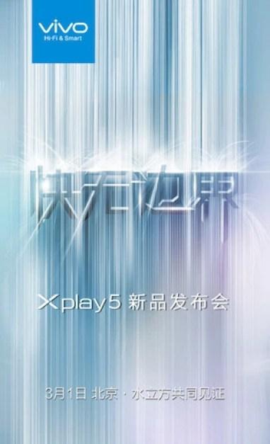 Vivo X Play 5 teaser