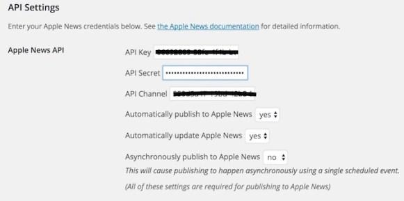 Adding API Keys