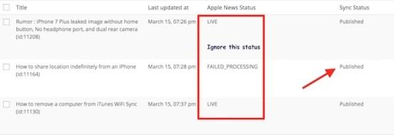 Apple news Publish