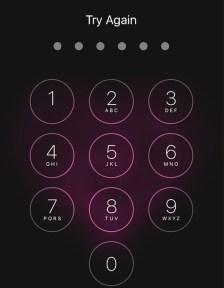 Password forgot iPhone