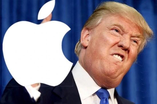 Trump Apple boycott failure