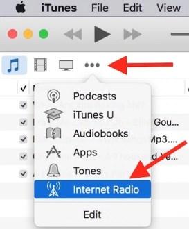 iTunes Internet Radio