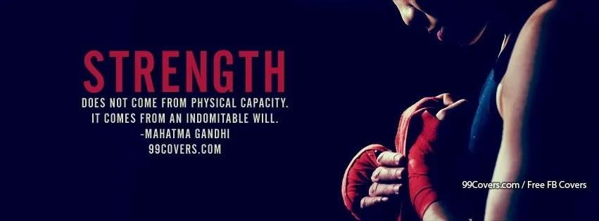 strength facebook timeline