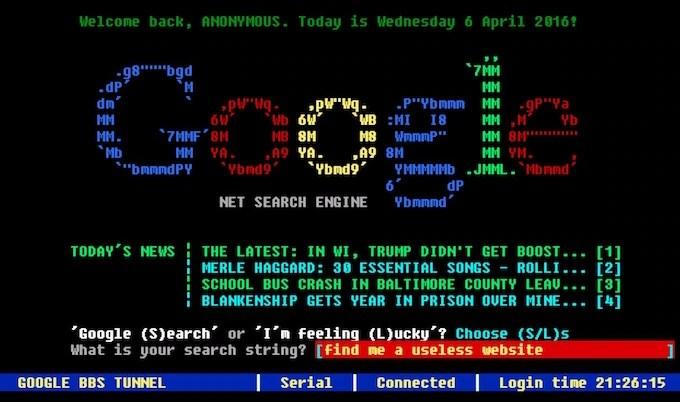 Google Terminal