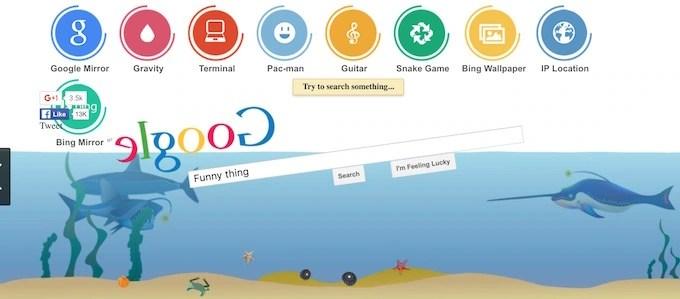 Google Underwater Gravity