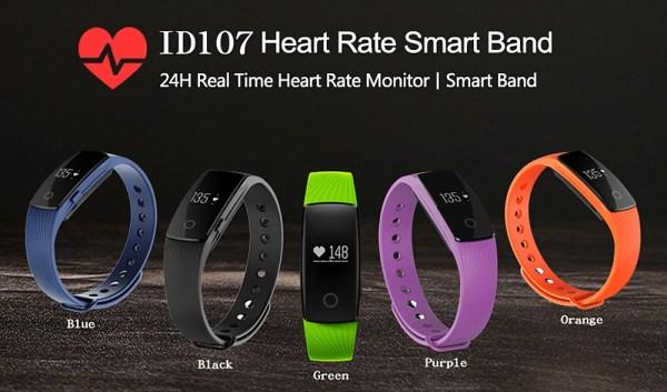 ID107 Smartwatch Wrist Band