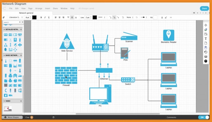 LucidChart for Mac & Linux : MS Visio Alternative