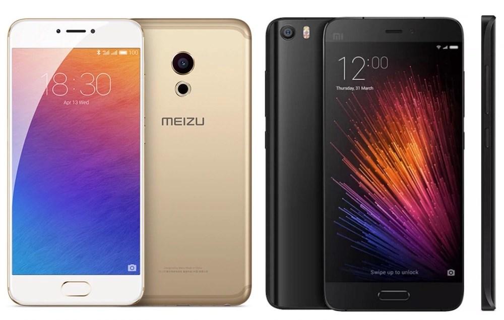 Meizu Pro 6 vs Xiaomi Mi 5