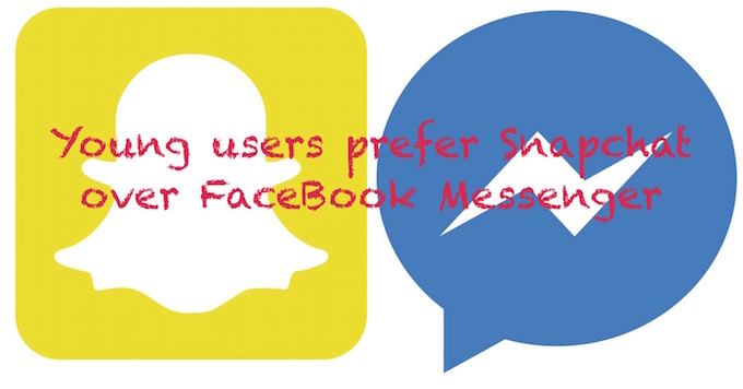 FaceBook Messenger and Snapchat