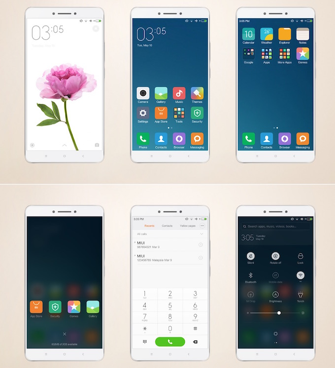 Download Xiaomi Mi Max Stock or Default Themes