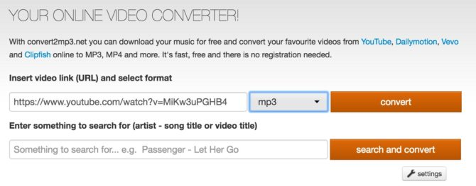 Convert YouTube