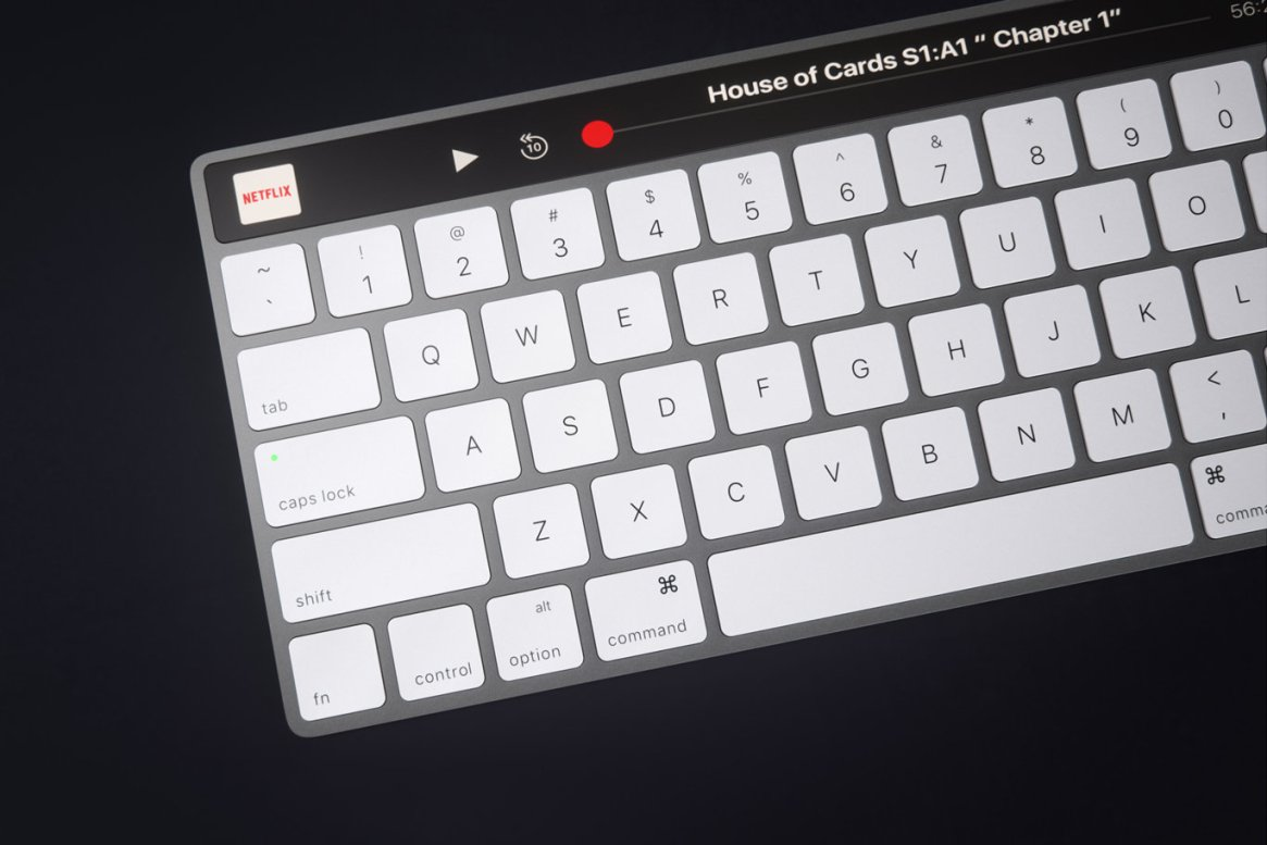 IMAC Keyboard with OLED Touch Bard 12