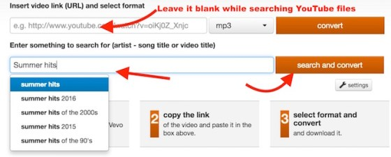 Search YouTube Video