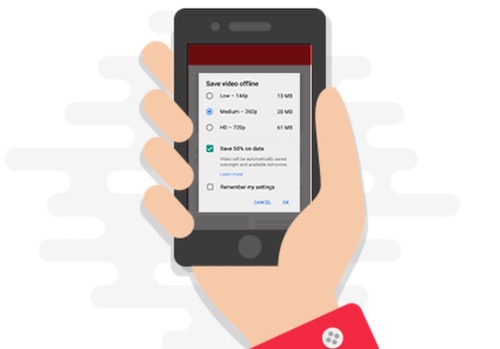 Select Smart offline feature