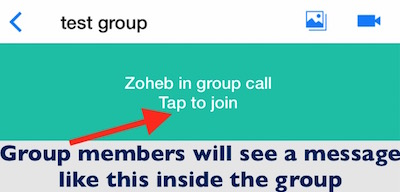 How to make free group or conference video call on imo