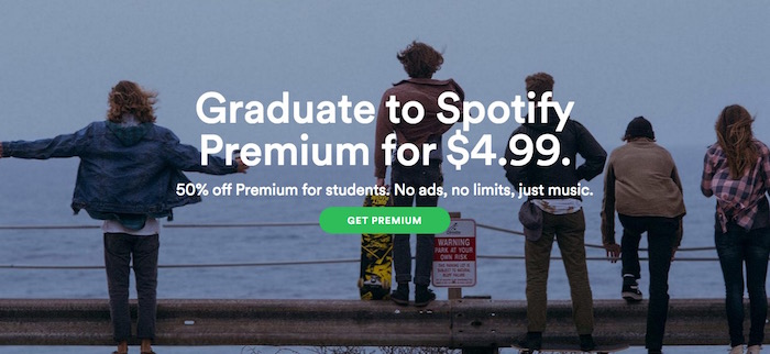 Spotify Premium for Student