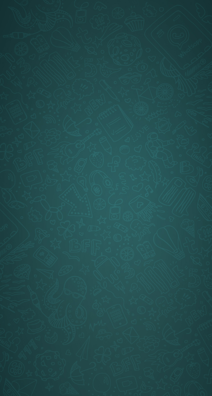 WhatsApp Chat theme iPhone 2
