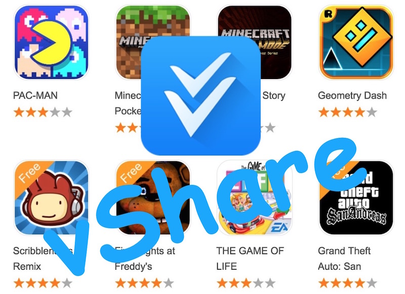 vShare Pro Android App Market: Free Paid Apps