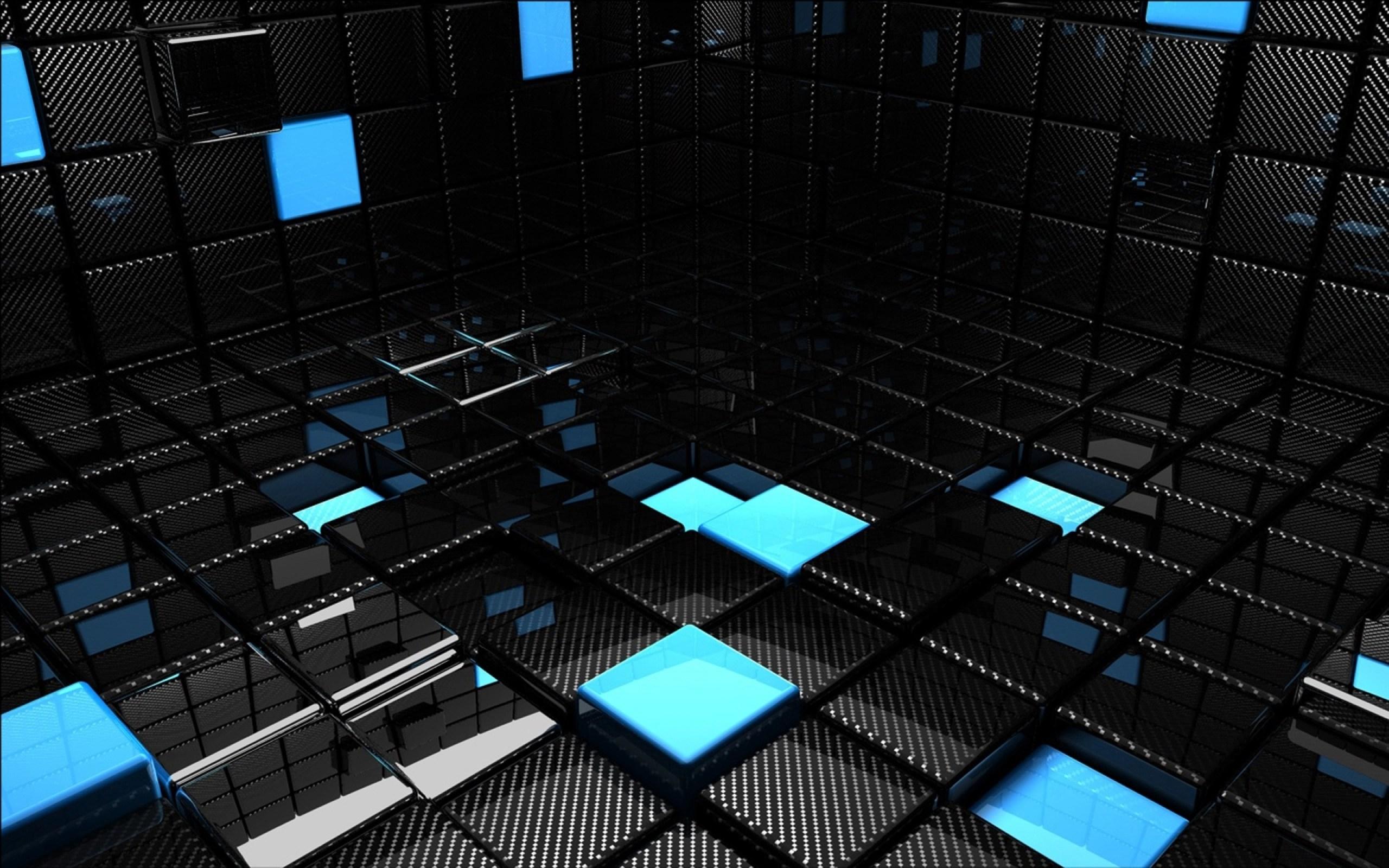 Black dark 3d abstrack wallpaper