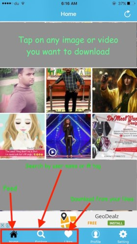 Instagram Video and Photo Downloader apps for iPhone
