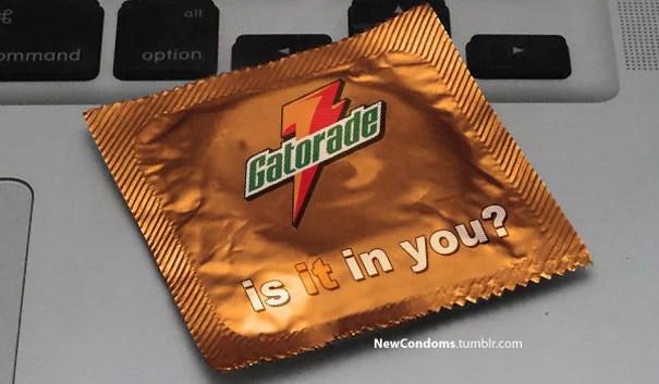 Gatoride condom