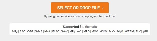 Convert WAV, OGG, WMA, M4A and FLAC to MP3