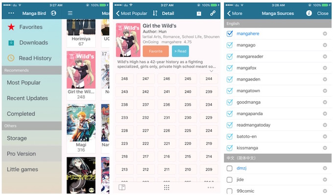 Free Apps to Download or Read Manga & Comics Online