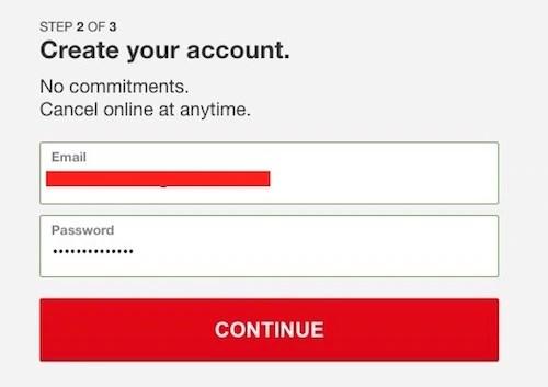 Netflix Login User Password