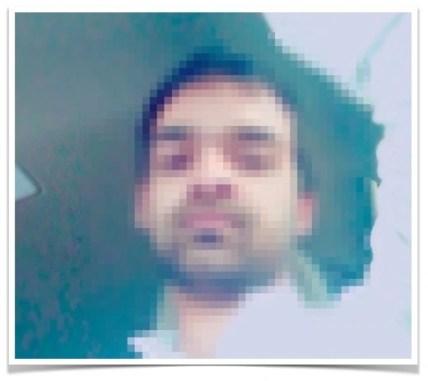 Pixelated image sample