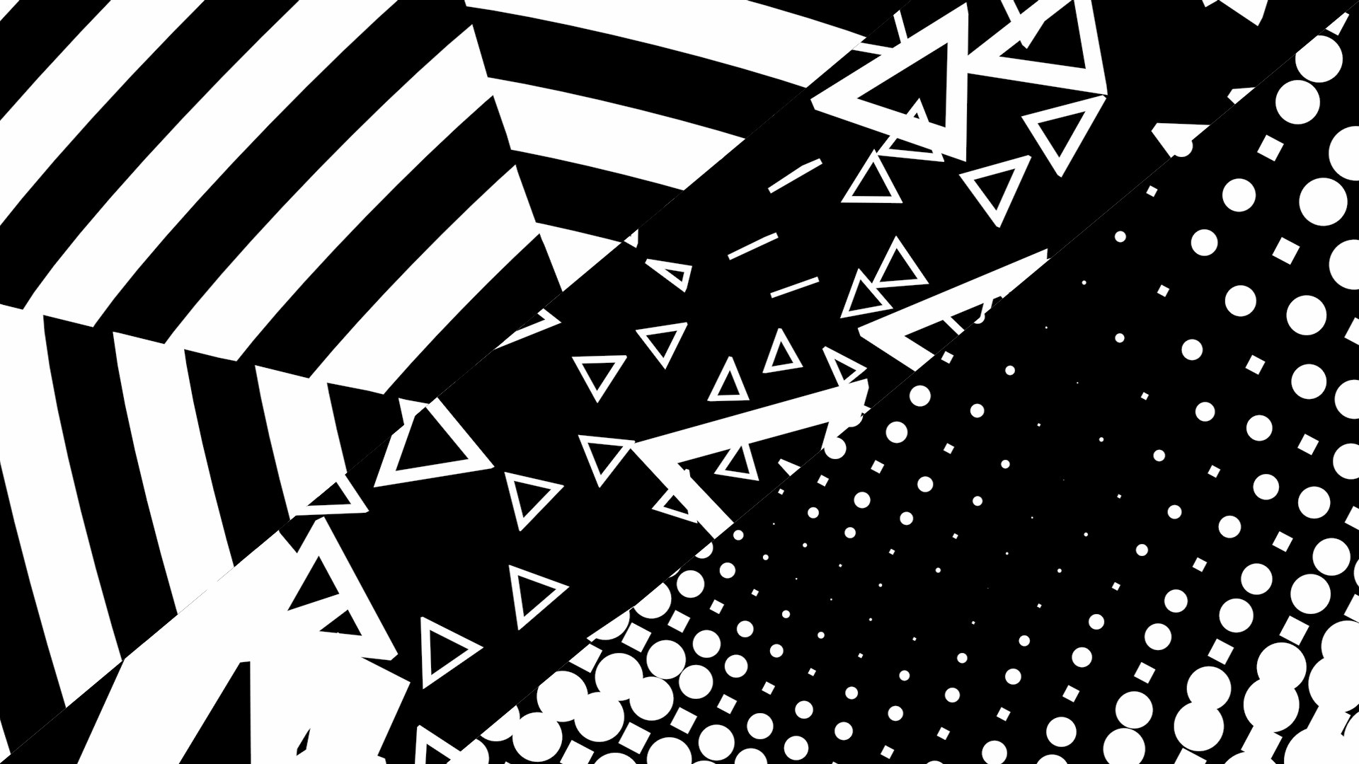 Trippy Background black and white