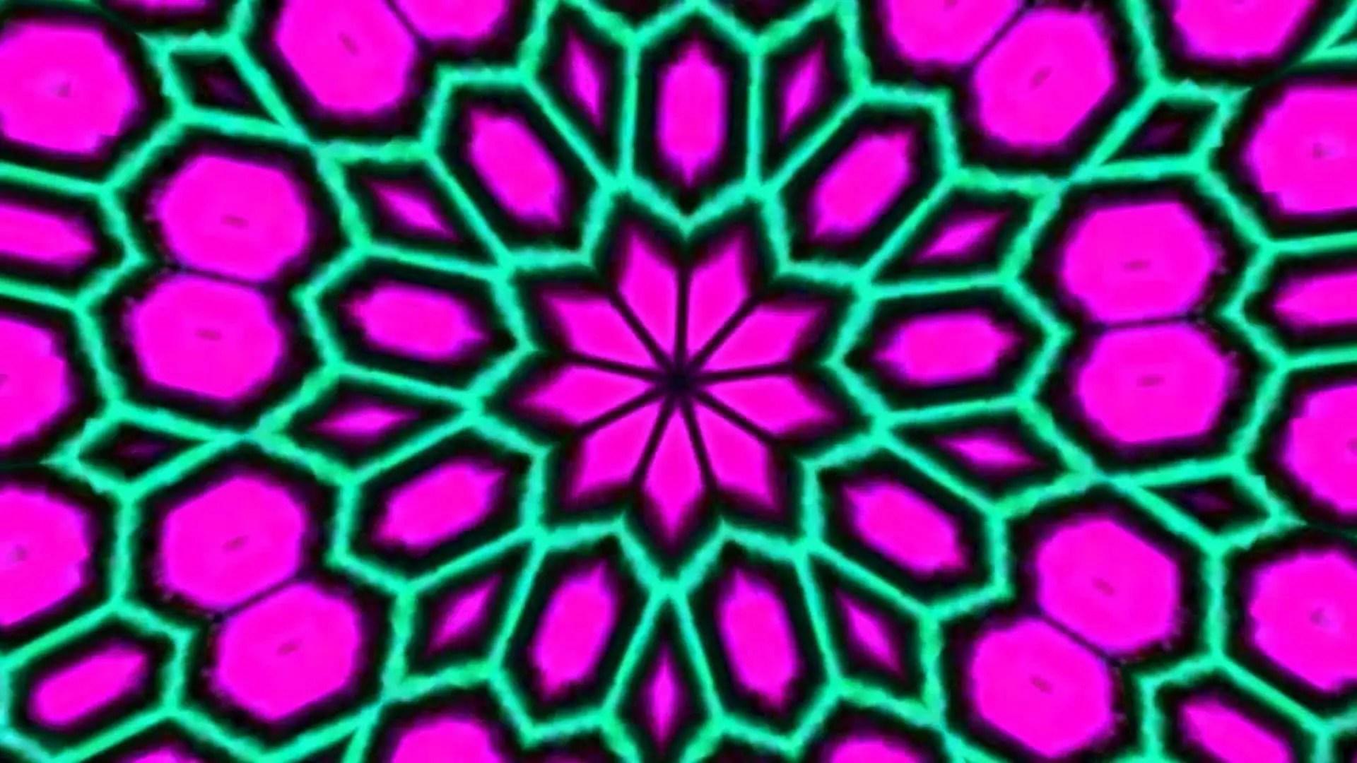 Trippy Background red