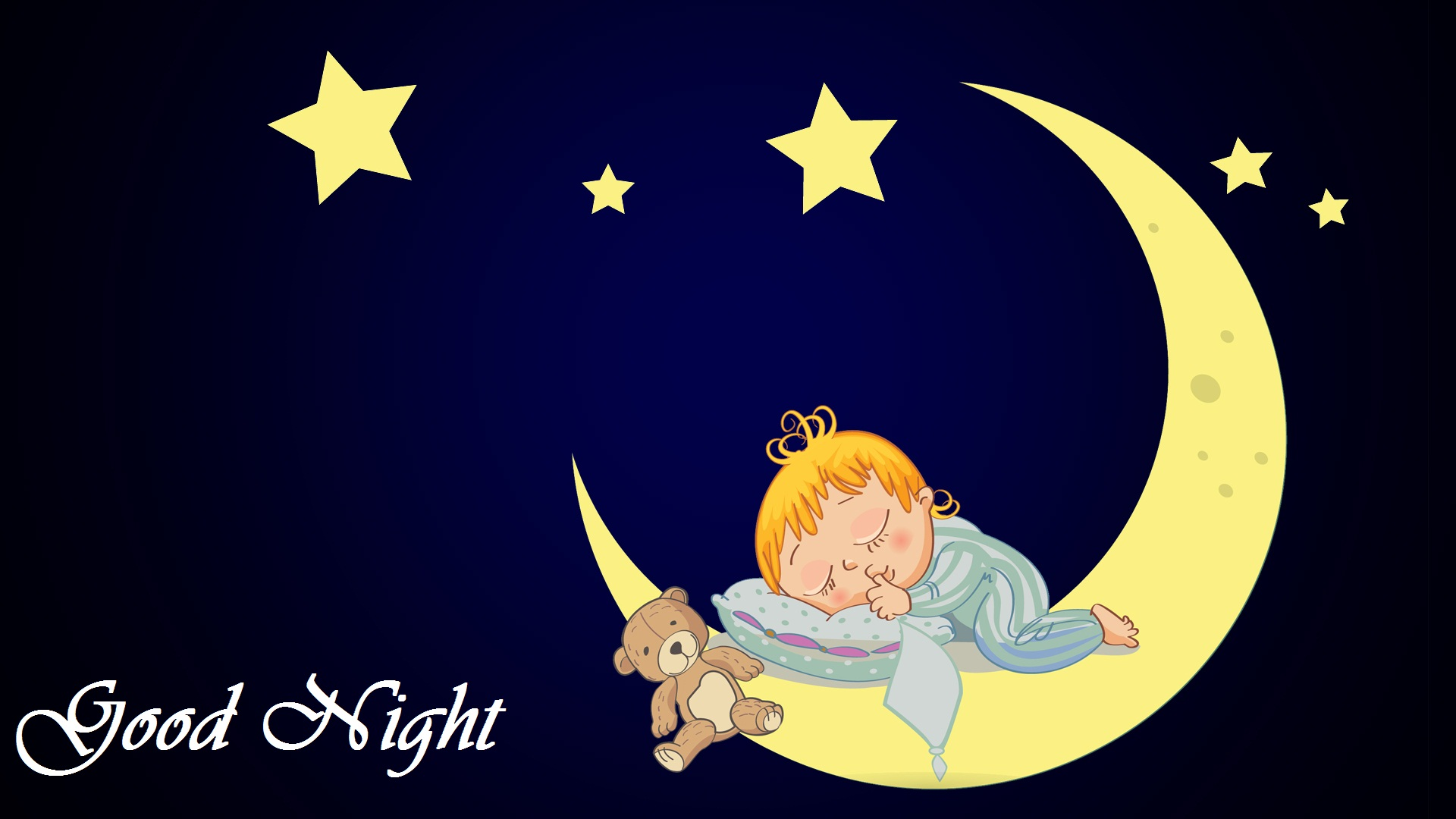 good night moon baby start dall image
