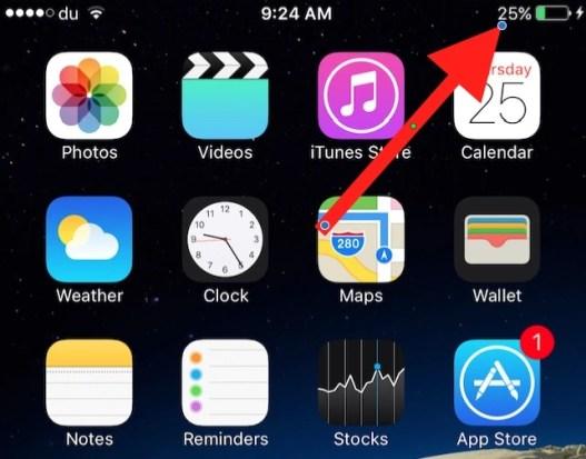 iPhone Battery Percent
