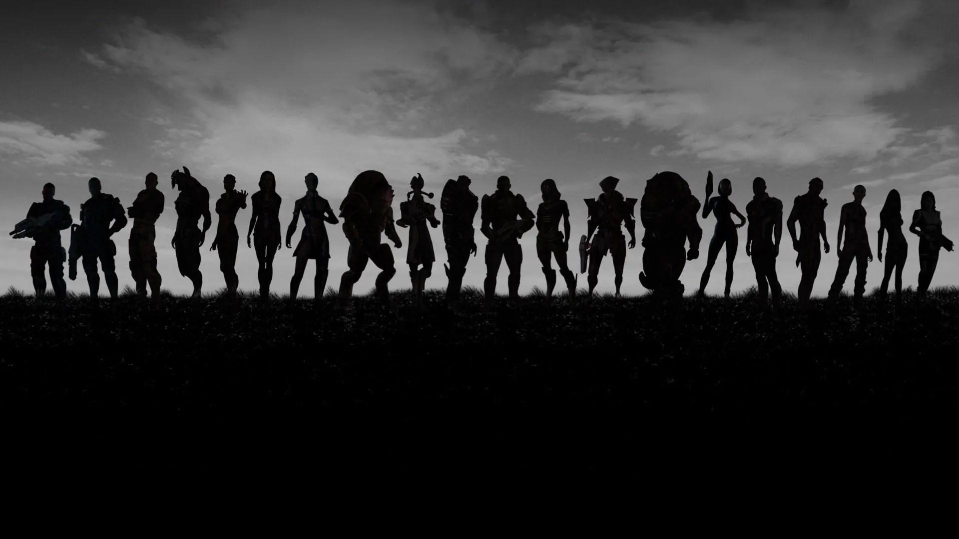Fighters Black Wallpaper