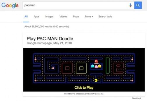 google-pacman-game