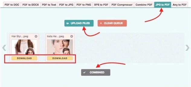 JPG to PDF Online Converter
