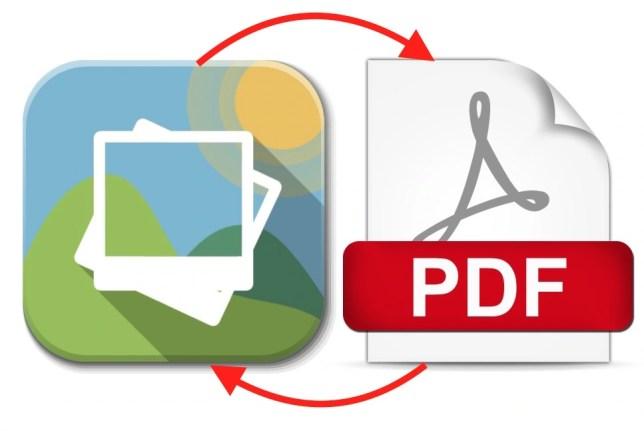 PDF to Image or Image to PDF