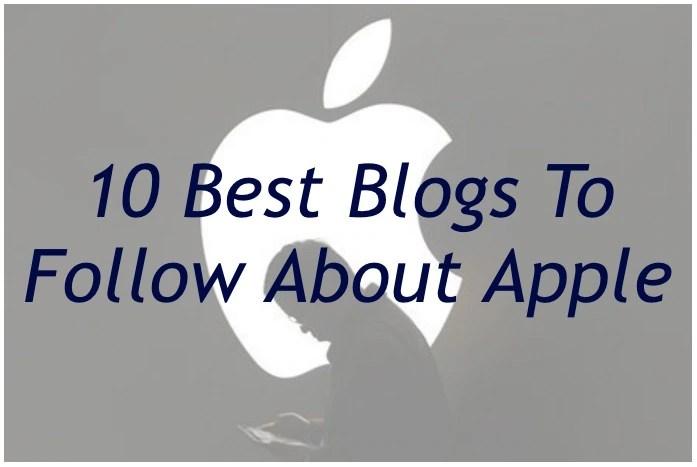 Best blogs to follow apple