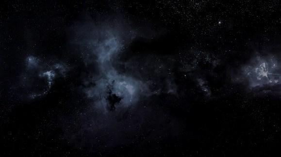 sky star Black Wallpaper