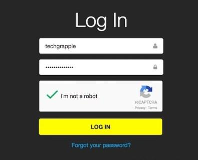 login-to-snapchat-account